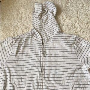J Crew striped jacket